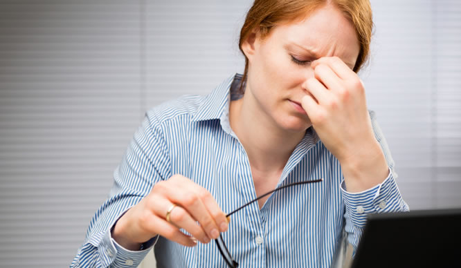 CFS wird oft von seinen erschöpften Betroffenen nicht erkannt.