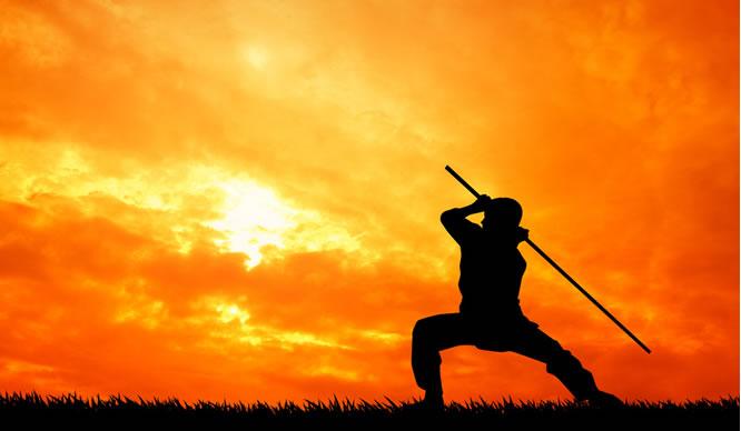 Shaolin-Mönche haben vor allem mentale Stärke.