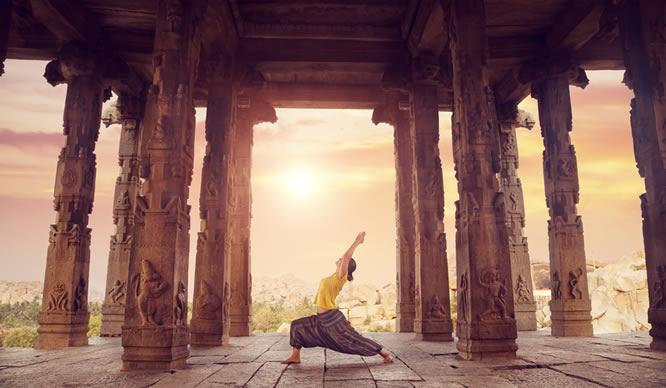 Yoga hat eine lange Geschichte.