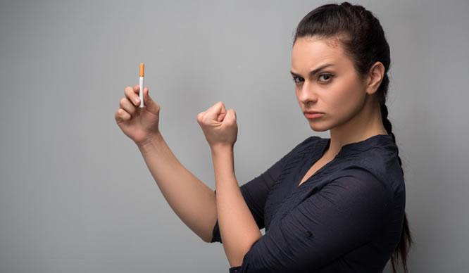 Es gibt viele Wege mit dem Rauchen aufzuhören.
