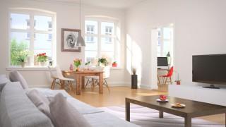Ein stilvoll eingerichtetes Wohnzimmer