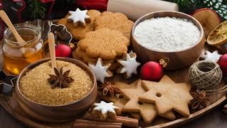 Weihnachtsplätzchen kann man auch mit Süßstoff backen.