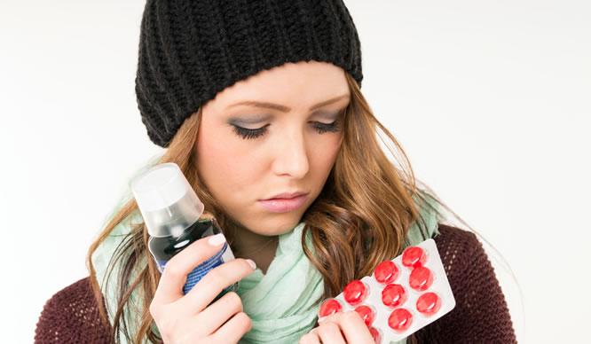 Bei Erkältung nicht gleich zu Antibiotika greifen.