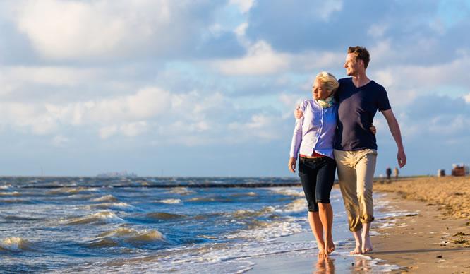 Eine Kur am Meer ist gut für die Atemwege.