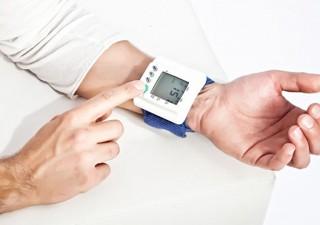 Eine digitale Blutdruck-Manschette