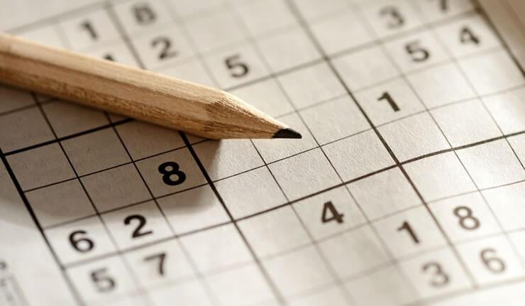 Mit Denksport wie Sudoku bleibt das Gehirn leistungsfähig