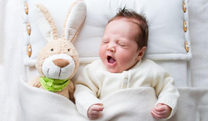 Babys müssen lernen, durchzuschlafen.