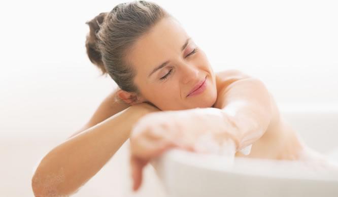 Baden Sie sich gesund - mit den passenden Badezusätzen.