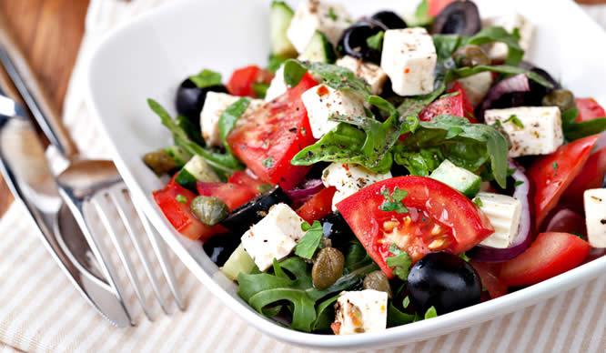 Mediterrane Kost ist gut für das Herz.